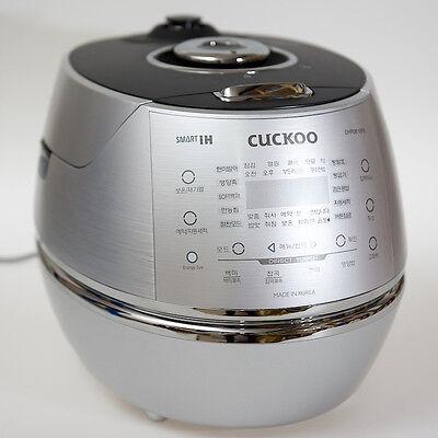 CUCKOO 6 Cups Smart IH Pressure Rice Cooker CRP-DHR067FS Kor/Eng/Chi Voice 220V