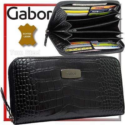 GABOR Reißverschluss Damen Portemonnaie Geldbeutel Geldbörse Brieftasche Angebot