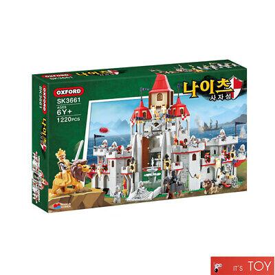 Oxford Kinights LION CASTLE SK3661 Brick Block Korean Building Figures 1220pcs
