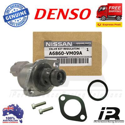 Denso For Nissan Pathfinder Suction Control Valve Kit R51M Diesel YD25DDT 2.5L