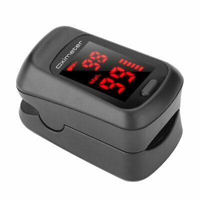 Home Finger-clamp Medical Oximeter Pulse Blood Oxygen Spo2 Pr Saturation Wj