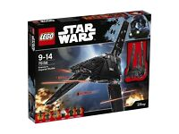 STAR WARS LEGO SETS (new & used) upto 65% off rrp email me for price and availability..