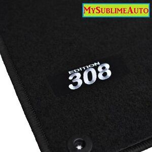 tapis de sol peugeot 308 308sw sw depuis 2007 velours. Black Bedroom Furniture Sets. Home Design Ideas