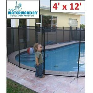 NEW WATERWARDER POOL SAFETY FENCE NE180F 251998412 IN GROUND POOLS 4x12 SECTION
