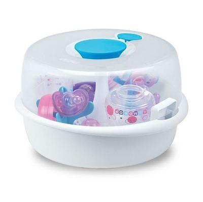 Microwave Steam Sterilizer Baby Bottles, Bottle Hygienic Cleaning, BPA Germ Free