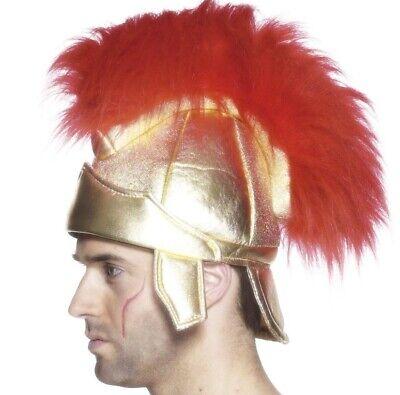 Erwachsene Römisch Kostüm Helm Soldaten Zenturio Spartan Helm Hut Neu (Römischer Soldaten Helm)