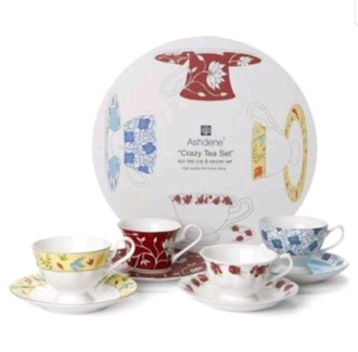 ashdene fine bone china crazy tea set collection