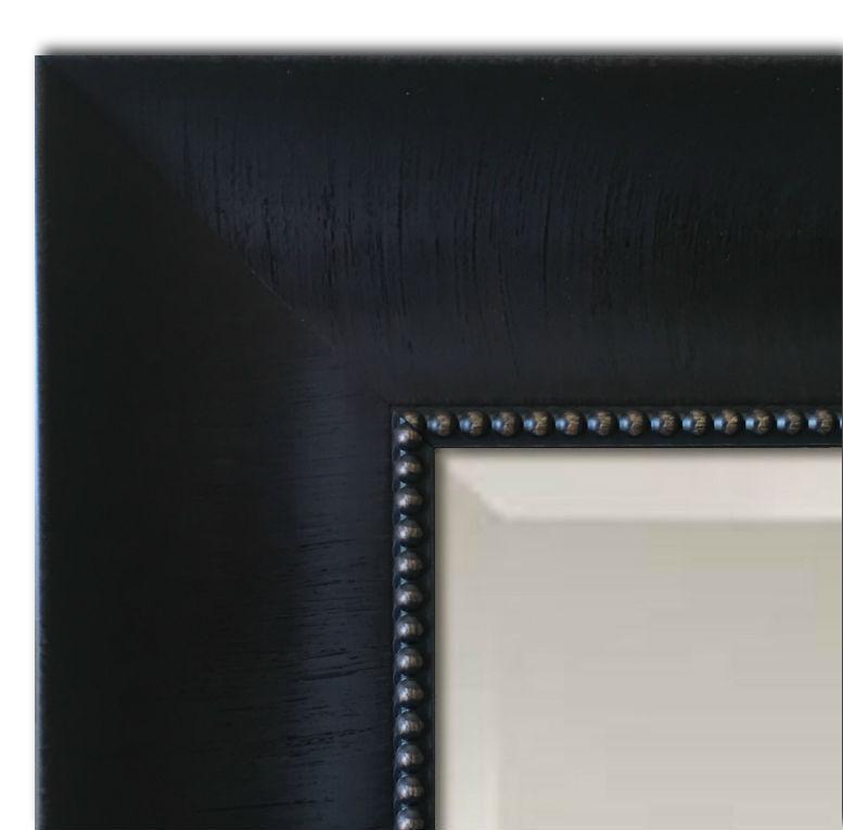 West Frames Napa Bathroom Vanity Framed Wall Mirror Black Fi