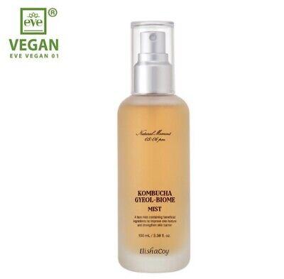 Elishacoy KOMBUCHA Gyeol-Biome Facial Mist 3.38oz/100ml Vegan life Clean Beauty