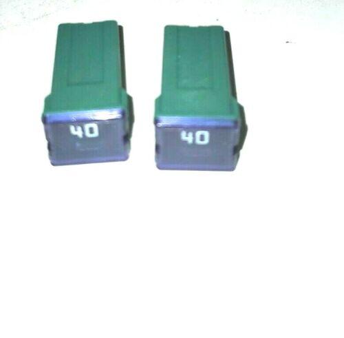 ( 2 pieces ) Bussmann FMX-40 Green 40 Amp Female Maxi Fuse