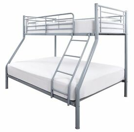 Brand New *** Trio Sleeper Metal Bunk Bed with Mattress...STARTING FROM