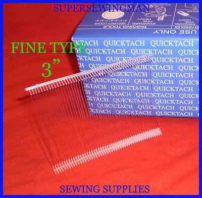 New 5000 Pcs. White Fine Price Tag Tagging Tagger 3 Pin Barbs Fasteners 3 Fine