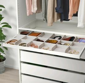 IKEA Komplement drawer mat and divider