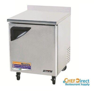 Turbo Air Twr-28sd-n Super Deluxe 28 Single Door Worktop Refrigerator