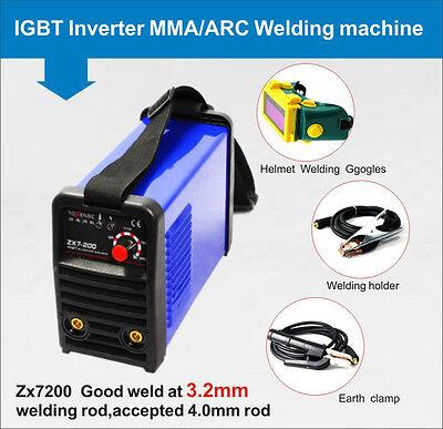 High Quality Igbt Inverter Mmaarc 200a Welding Machine 220v Welding Helmet