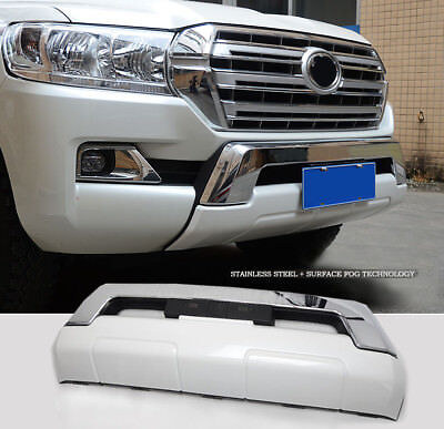 Car Front Bumper Protector Tow Eye Bull Bars For Toyota Land Cruiser LC200 16-18
