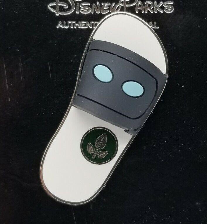 Disney Pin - PIXAR Sandals Flip Flops Series Eve 3-D #110128 TRADE w/Card