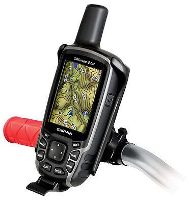 RAM Mount Plastic Garmin GPSMAP 62 64 Series Bike EZ Handlebar Rail Mount