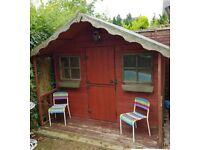 Outdoor playhouse.