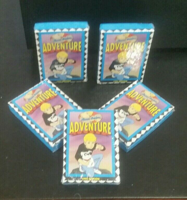 Fantastic HANNA-BARBERA Adventure Trading Cards SEALED SET 1995 LIMITED EDITION