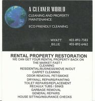 Rental Property Cleaning
