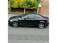 Bmw 1series coupe 123d m sport red leathers