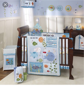 Carter's 'Under the sea' crib bedding and accessories