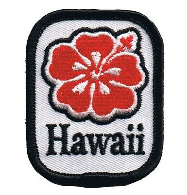 Hawaii Hibiscus Patch - Tropical Flower (Iron - Tropical Flower