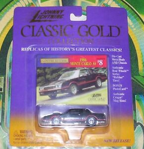 Johnny Lightning Classic Gold 1986 Monte Carlo SS die cast car