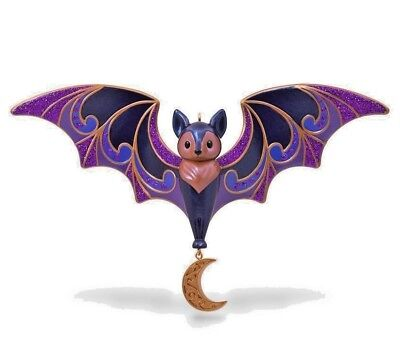 Hallmark 2018 Bewitching Bat Beauty of Birds Companion Halloween Keepsake - Halloween Birds