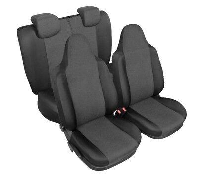 Erjot Grau 2005-2014 Autositzbezüge Sitzbezüge Maßgefertigt für Toyota Aygo