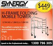 H-Frame Foldable 1.0m Aluminium Scaffold/Scaffolding Tower Wollongong Wollongong Area Preview