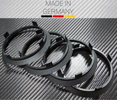 4 X Zentrierring SCHWARZ 71.6 x 67.1 mm für AEZ Dezent Dotz Enzo Keskin