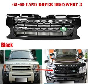 05-09 LAND ROVER DISCOVERY 3 SPORT MESH GRILL/GRILLE/FRAME WITH DIFF STYLES L02