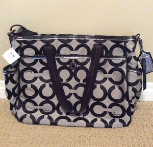 Coach Diaper Baby Bag - Brand New