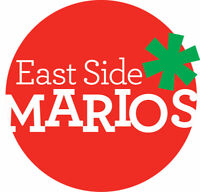 East Side Mario's is hiring all positions, Apply in person only!