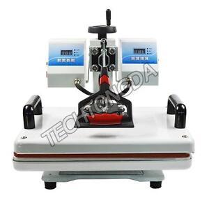 Double Temperature Control Heat Press Machine(110V,11.5*15inch)  259005