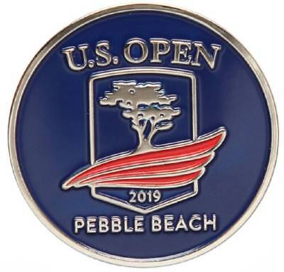 2019 US Open (Pebble Beach) -Flat- (Navy) Logo Golf BALL MARKER