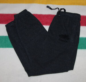ROOTS SWEATPANTS BLACK SPECKLE SIZE ADULT MEDIUM