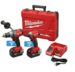 MILWAUKEE  M18 FUEL 2-TOOL COMBO KIT WITH ONE-KEY