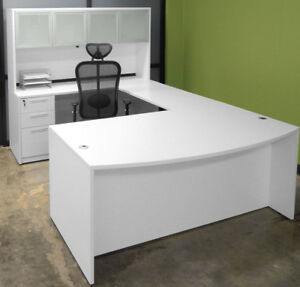 *****EXECUTIVE U Shape DESK *** 3 Modern colors***NEW***