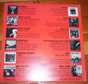 kelly's 1981 ROCKTOBER rock vinyl record TRIUMPH goddo DOWNCHILD Kitchener / Waterloo Kitchener Area image 2
