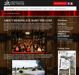 2 Tickets to Herongate Barn Dinner Theatre
