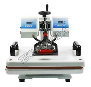 Double Temperature Control Heat Press Machine(110V,11.5*15inch)  259005