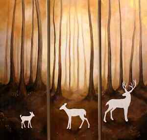 SPIRITS OF THE FOREST ~ ORIGINAL PAINTING