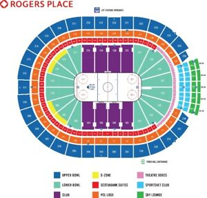 Edmonton Oilers vs Montreal Canadiens Nov 13/18
