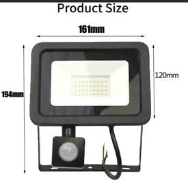 Slim 20W LED Security Flood Light Outdoor Garden PIR Motion Sensor