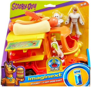 Fisher-Price Imaginext Scooby-Doo Hot Dog Cart and Figure Packs