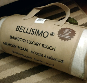 FOR SALE - Bellisimo memory foam pillow