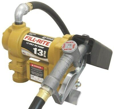 12v Dc Fuel Transfer Pump With Nozzleno Sd1202g Tuthill Corp